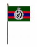 Royal Irish Regiment Hand Flag - Small.